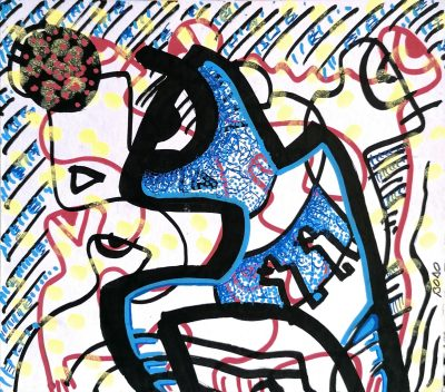 1 art contemporain contemporary art george bodocan artist peinture painting