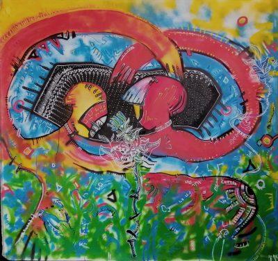 art contemporain contemporary art george bodocan artist peinture painting
